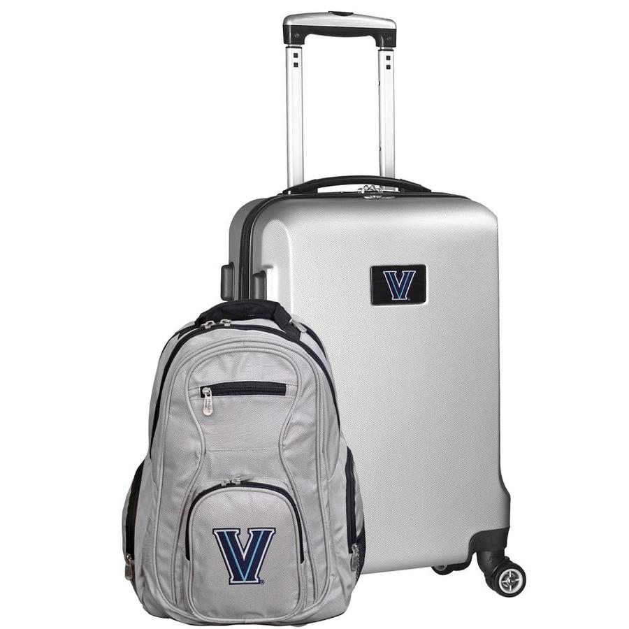 Mojo Licensing Ncaa Villanova Wildcats 24 X 15 X 9 5 Silver Polycarbonate Hardshell Suitcase Set 2 Bag In The Luggage Luggage Sets Department At Lowes Com