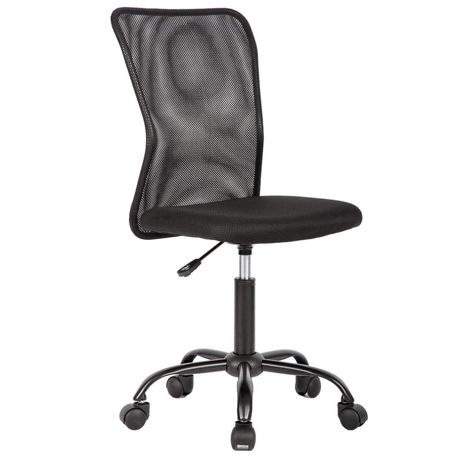 Bestoffice Ergonomic Office Chair Desk Chair Mesh Computer Chair Back Support Modern Executive Mid Back Rolling Swivel Chair For Women Men Black In The Office Chairs Department At Lowes Com