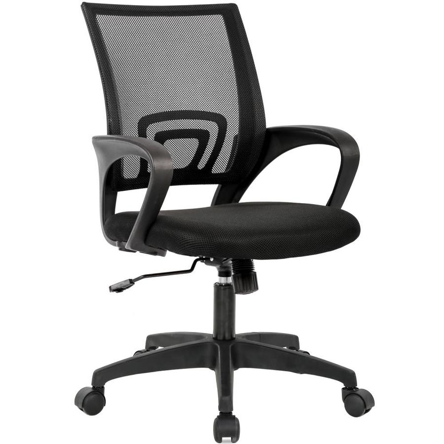 Bestoffice Home Office Chair Ergonomic Desk Chair Mesh Computer Chair With Lumbar Support Armrest Executive Rolling Swivel Adjustable Mid Back Task Chair For Women Adults Black In The Office Chairs Department At