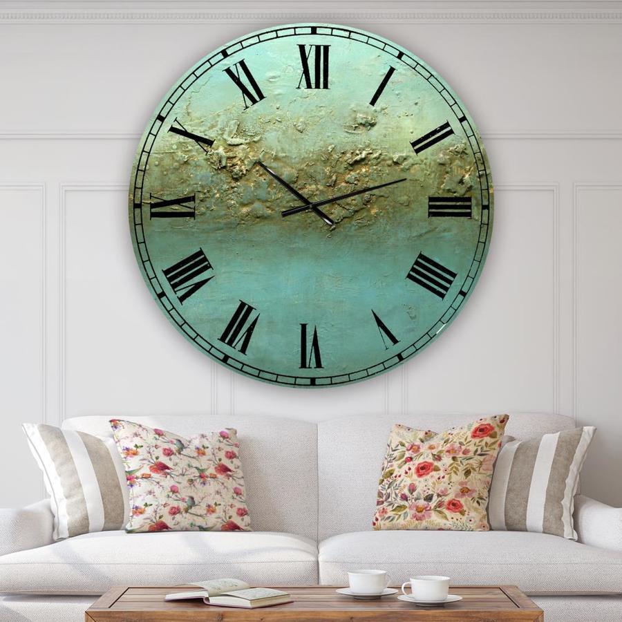 Designart Designart 'Ocean Dreams' Large Modern Wall Clock