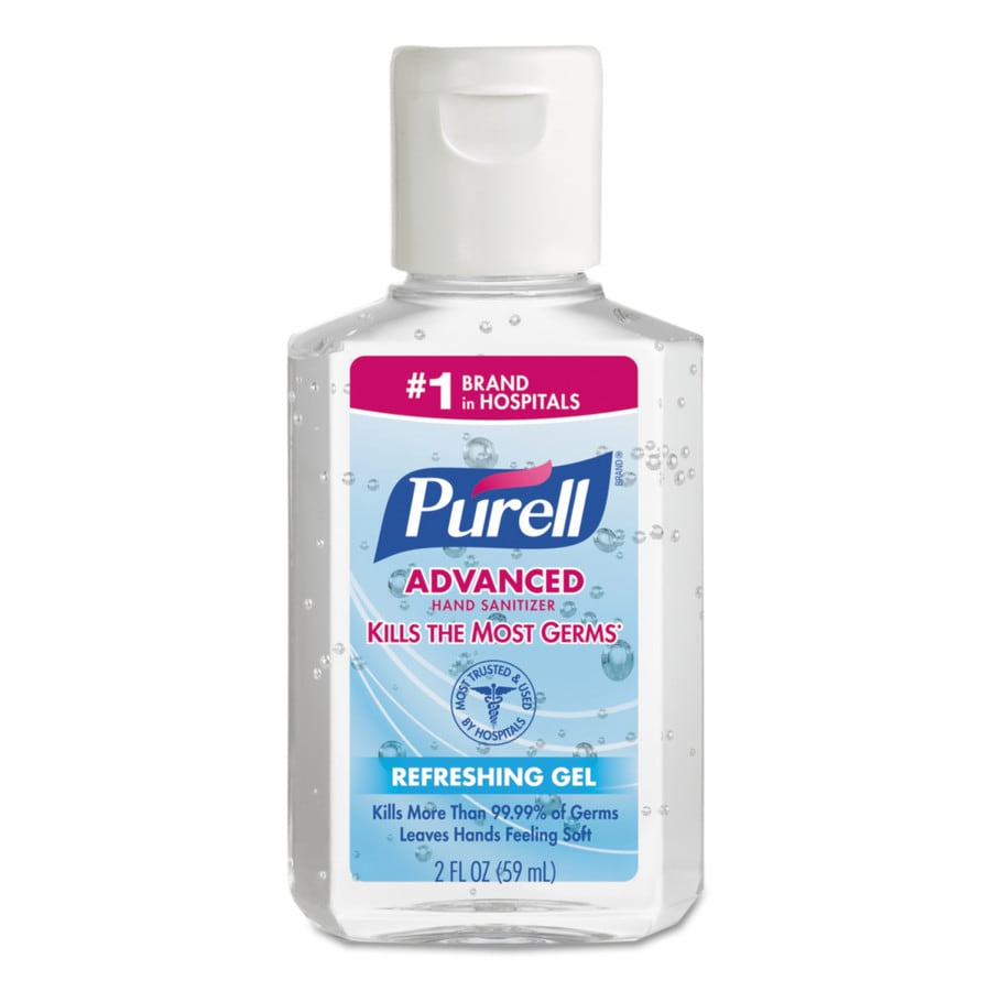 PURELL 24-Count 2-oz Unscented Hand Sanitizer Gel