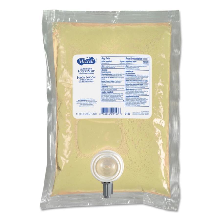 GOJO 8-Pack 34-fl oz Antibacterial Balsam Hand Soap