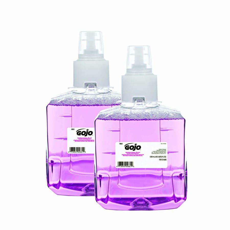 GOJO 2-Pack 41-fl oz Antibacterial Foaming Plum Hand Soap