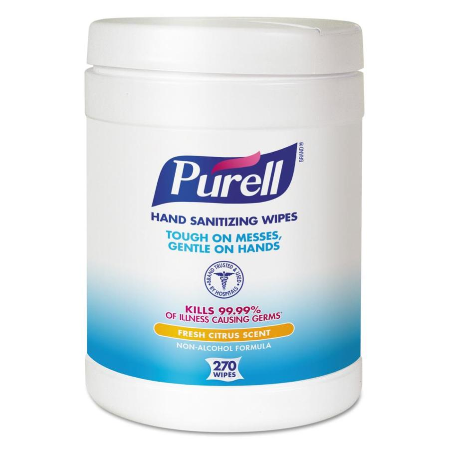 PURELL 6-Count Citrus Hand Sanitizer Wipes