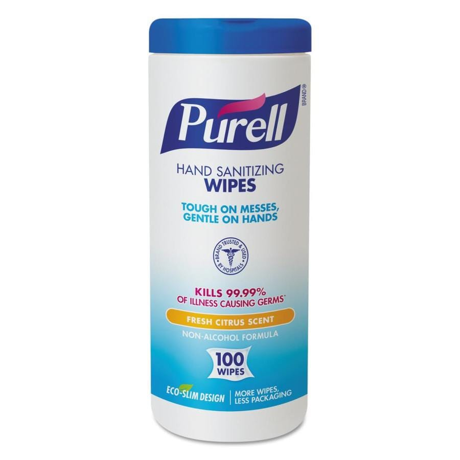 PURELL 12-Count 157.6-oz Fresh Citrus Hand Sanitizer Wipes