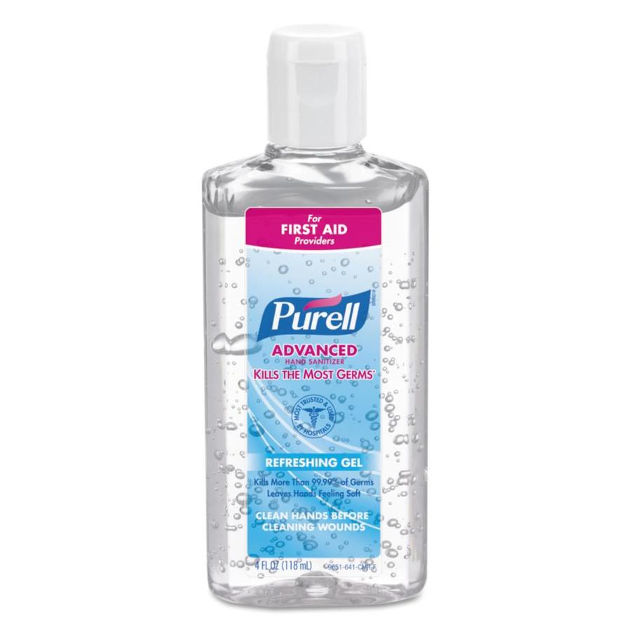 PURELL 24-Count 4-oz Unscented Hand Sanitizer Gel