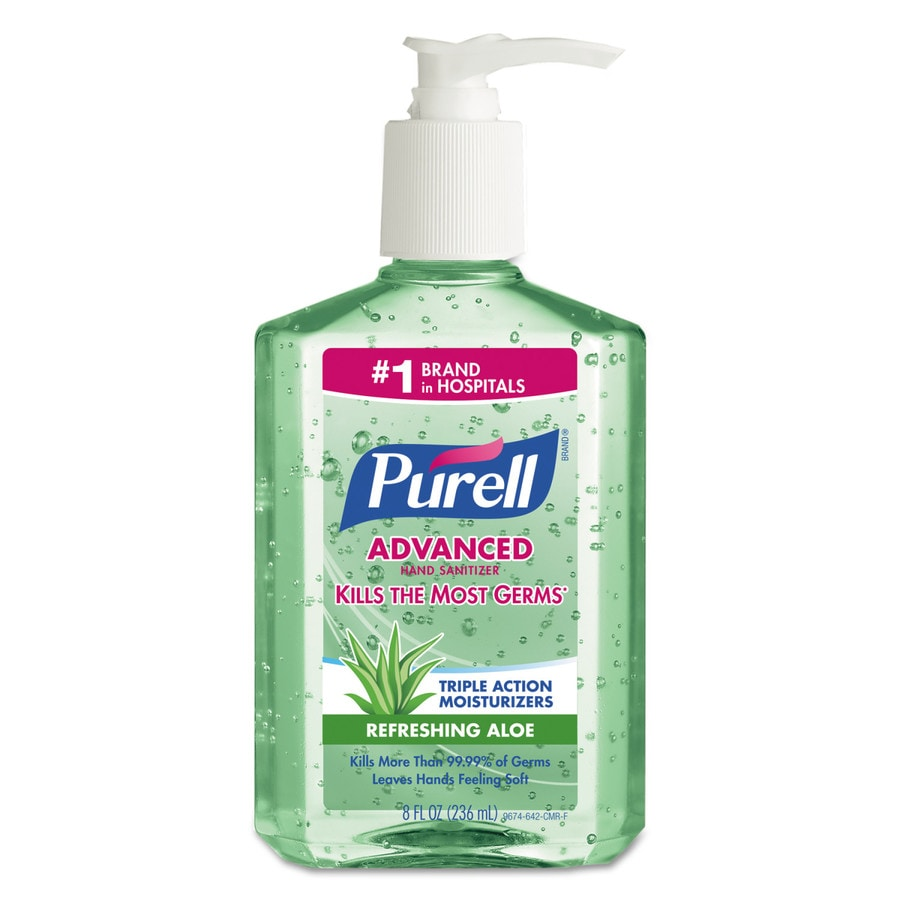 PURELL 12-Count 8-oz Floral Hand Sanitizer Gel