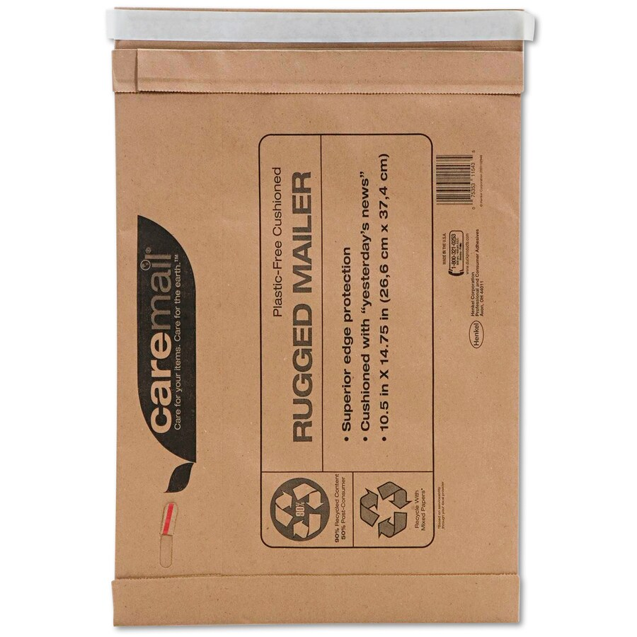 Caremail 25-Count #7 18.75-in x 14-in Padded Mailer