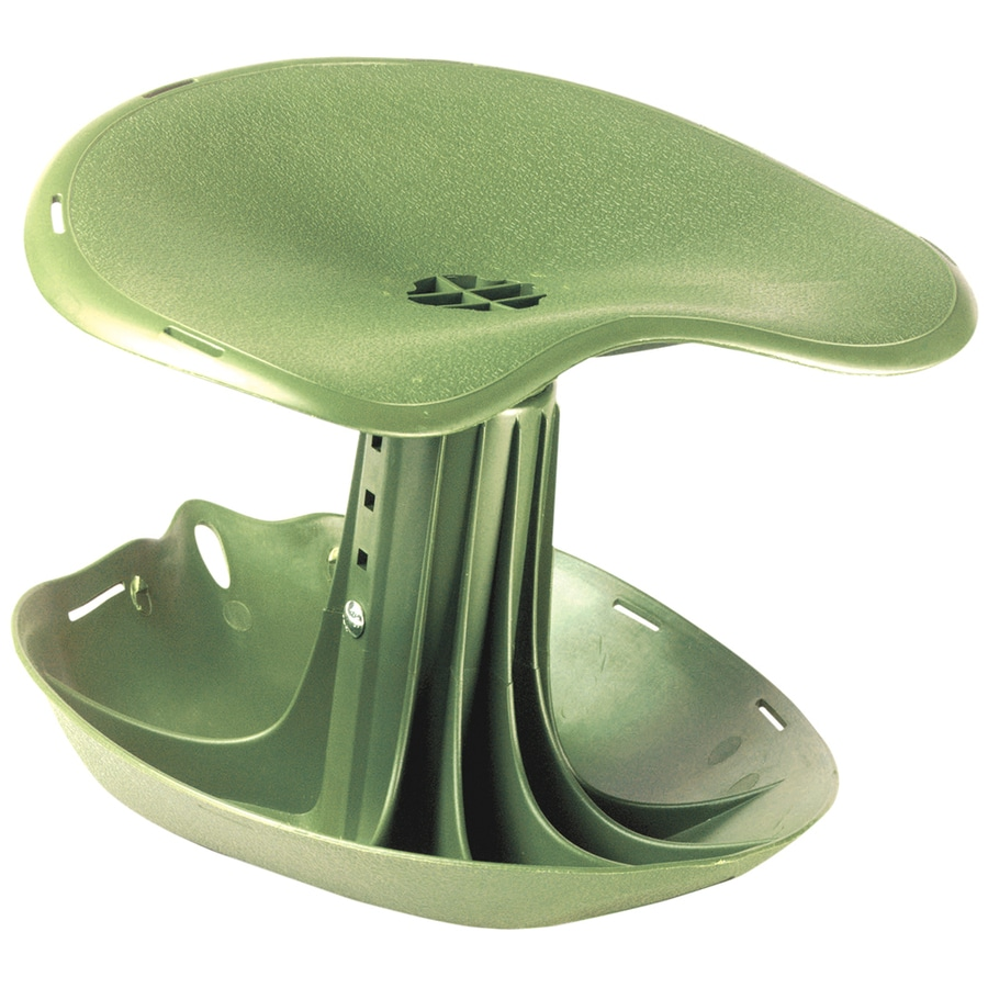 Shop Garden Brand Green Plastic Garden Seat at Lowes.com