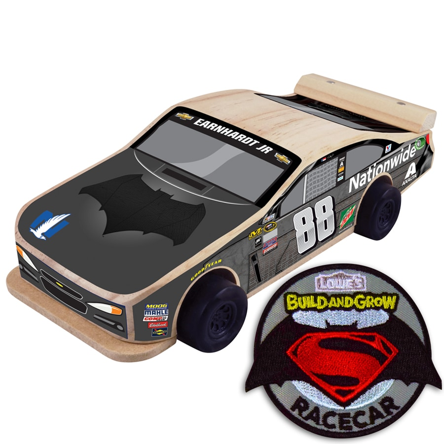 Build and Grow Kid's Beginner Dale Earnhardt Batman Build and Grow Kit Project Kit