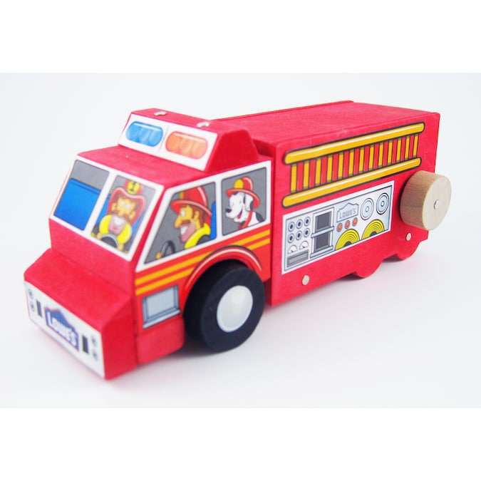 Lowe/'s Build and Grow Fire Truck Engine Kit  NEW in package Build and Play B1