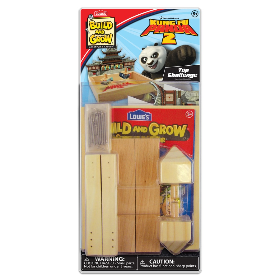 Build and Grow Kid's Beginner Build and Grow KFP Tops Challenge Project Kit