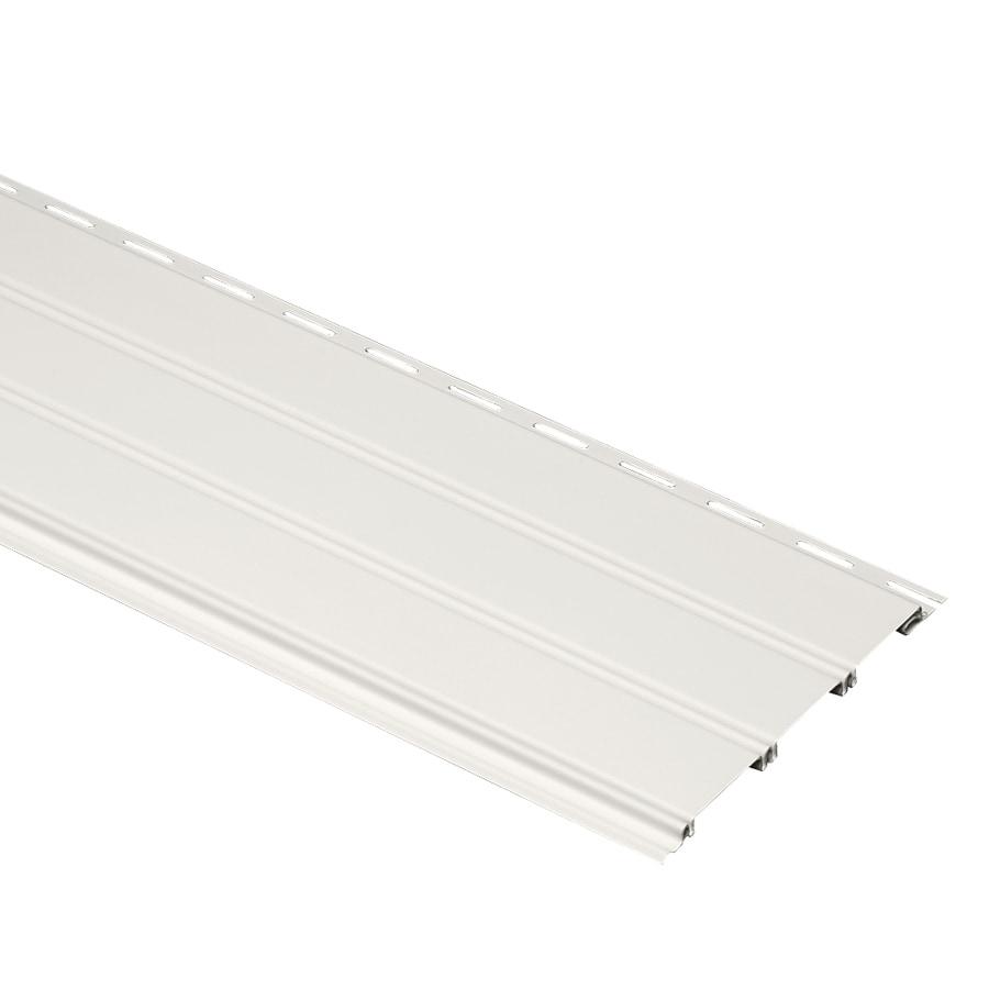 Durabuilt 15-Pack Traditional Linen Vinyl Siding Panels 7.86-in x 148-in