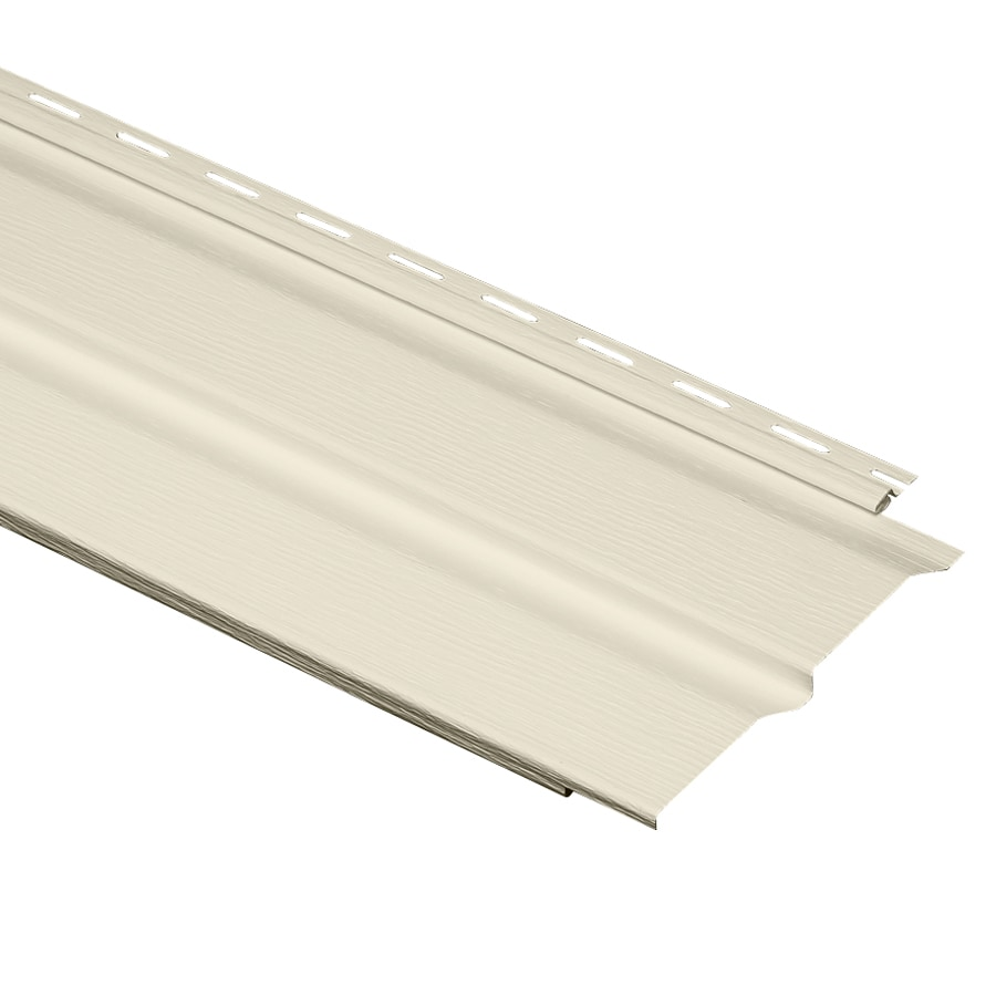 Durabuilt 24-Pack Dutch Lap Cream Vinyl Siding Panels 9.3-in x 150-in
