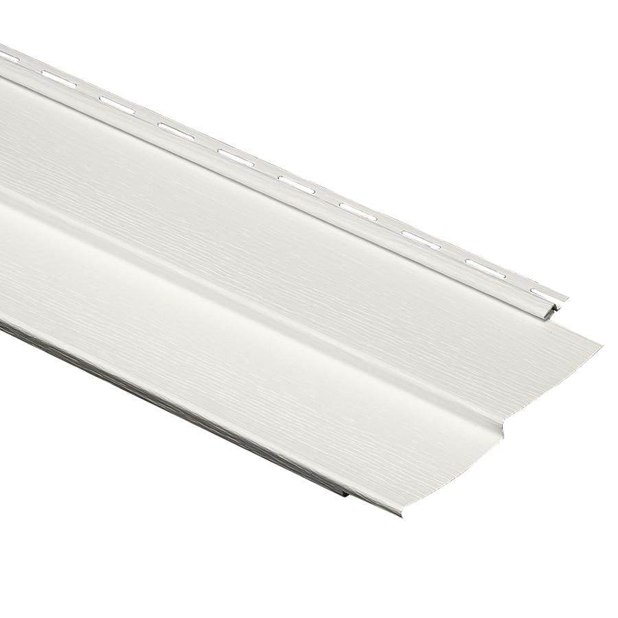 Durabuilt 440 24-Pack Vinyl Siding Panel Double 4 Traditional Linen 9.34-in x 150-in