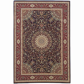 Archer Lane Oakleigh 8 X 10 Charcoal Indoor Floral Botanical Area Rug In The Rugs Department At Lowes Com