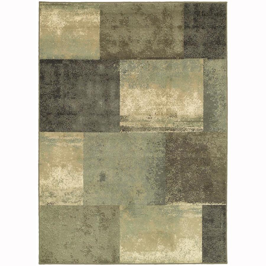 Archer Lane Hamilton Multicolor Rectangular Indoor Machine-Made Nature Area Rug (Common: 6 x 9; Actual: 6.6-ft W x 9.25-ft L)