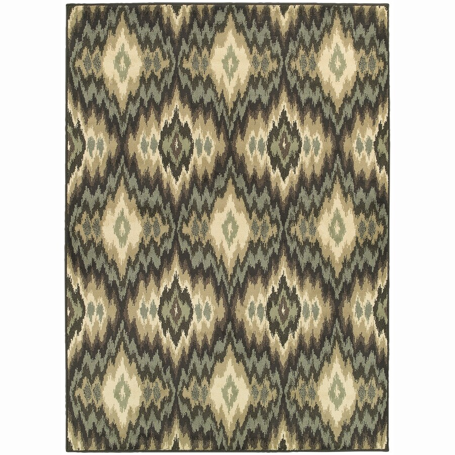 Archer Lane Oxford Ivory Rectangular Indoor Machine-Made Nature Area Rug (Common: 5 x 7; Actual: 5.25-ft W x 7.25-ft L)