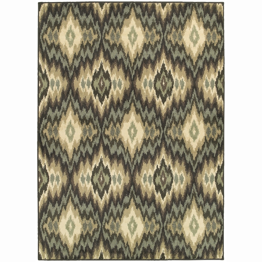 Archer Lane Oxford Ivory Rectangular Indoor Machine-Made Nature Area Rug (Common: 6 x 9; Actual: 6.6-ft W x 9.25-ft L)
