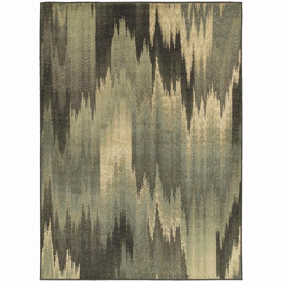Archer Lane York Multicolor Rectangular Indoor Machine-Made Nature Area Rug (Common: 10 x 14; Actual: 10.08-ft W x 12.8-ft L)