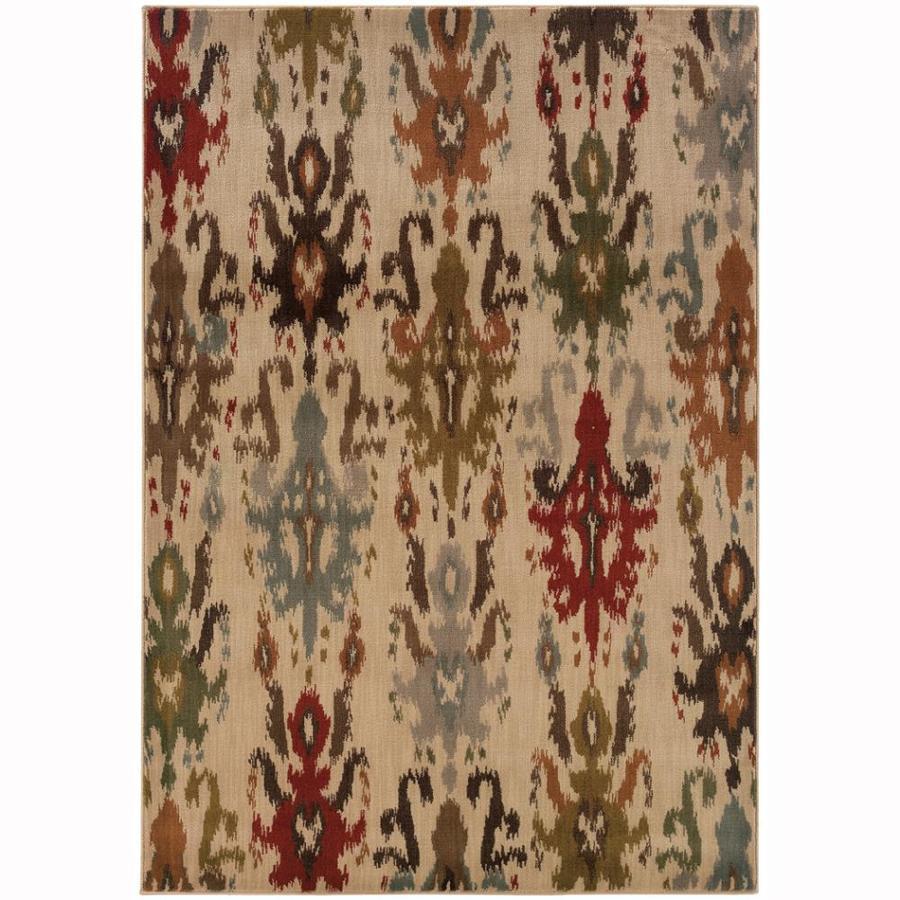 Archer Lane Deerfield Ivory Indoor Moroccan Area Rug (Common: 10 x 13; Actual: 9.8-ft W x 12.8-ft L)