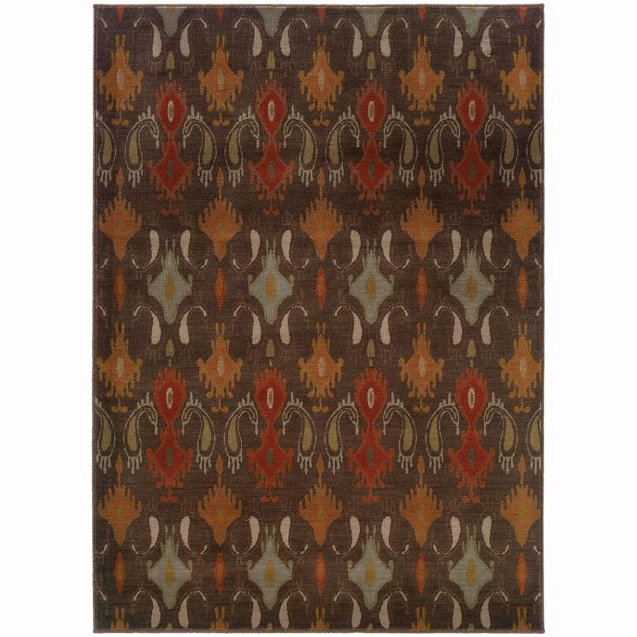 Archer Lane Linden Mink Indoor Moroccan Area Rug (Common: 5 x 8; Actual: 6.25-ft W x 7.5-ft L)