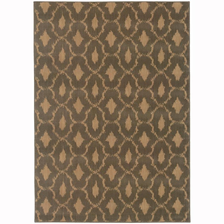 Archer Lane Shady Blue Rectangular Indoor Machine-Made Moroccan Area Rug (Common: 10 x 13; Actual: 9.8-ft W x 12.8-ft L)