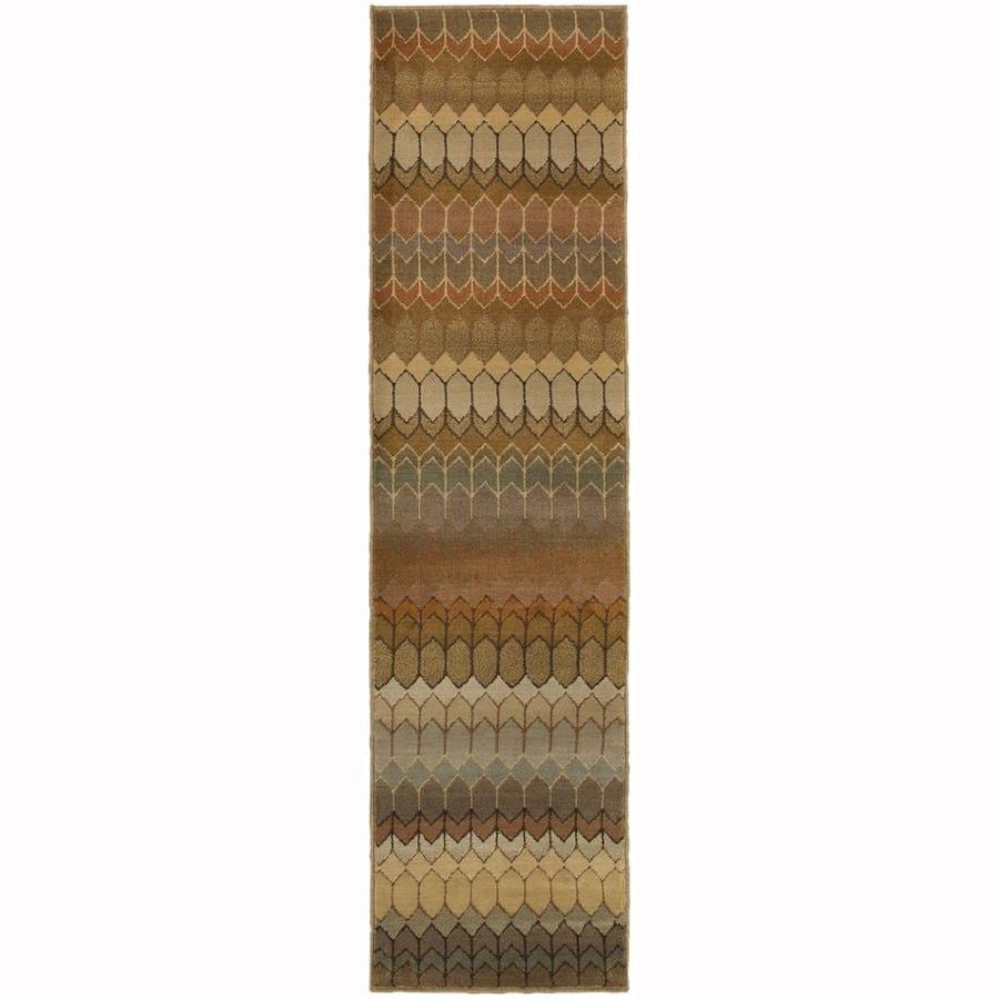Archer Lane Skyline Multicolor Rectangular Indoor Machine-Made Moroccan Runner (Common: 2 x 8; Actual: 1.8-ft W x 7.5-ft L)