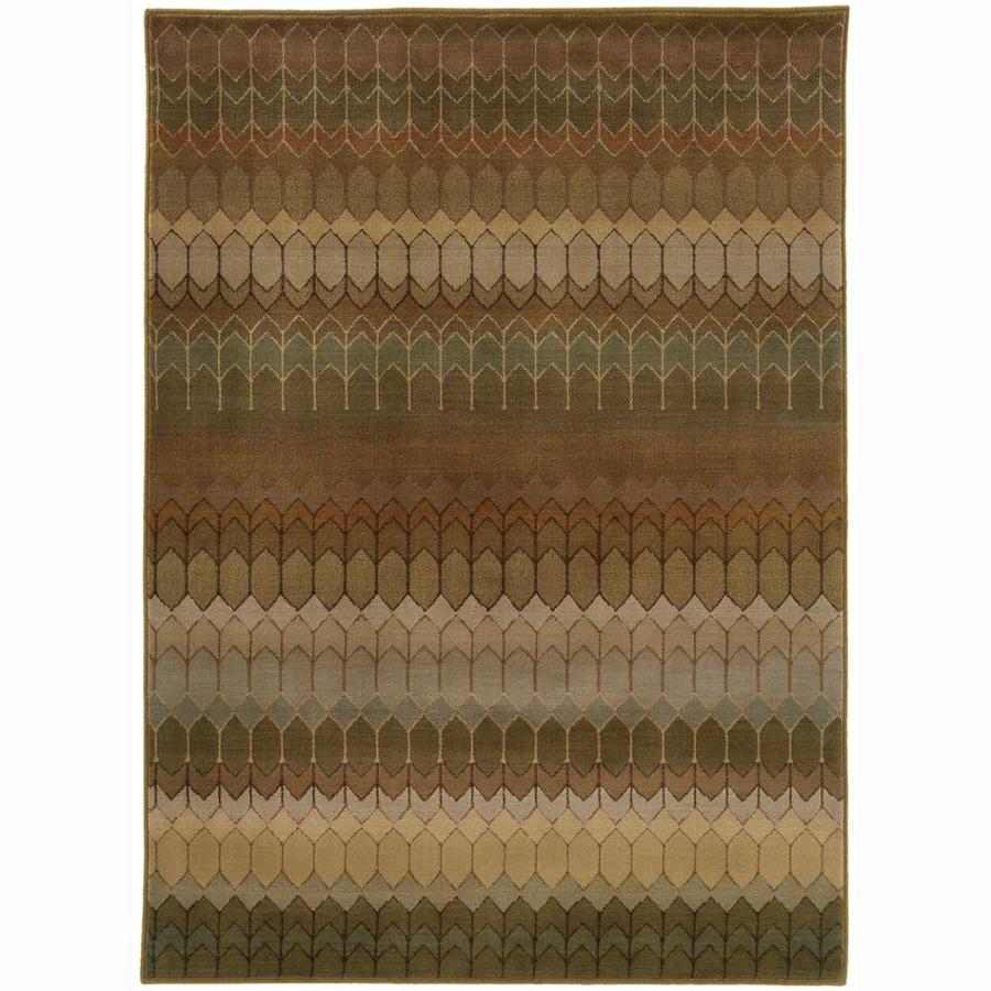 Archer Lane Skyline Multicolor Rectangular Indoor Machine-Made Moroccan Area Rug (Common: 10 x 13; Actual: 9.8-ft W x 12.8-ft L)
