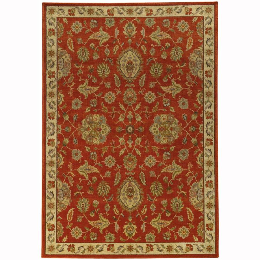 Archer Lane Heritage Beige Indoor Oriental Area Rug (Common: 10 x 13; Actual: 9.8-ft W x 12.8-ft L)