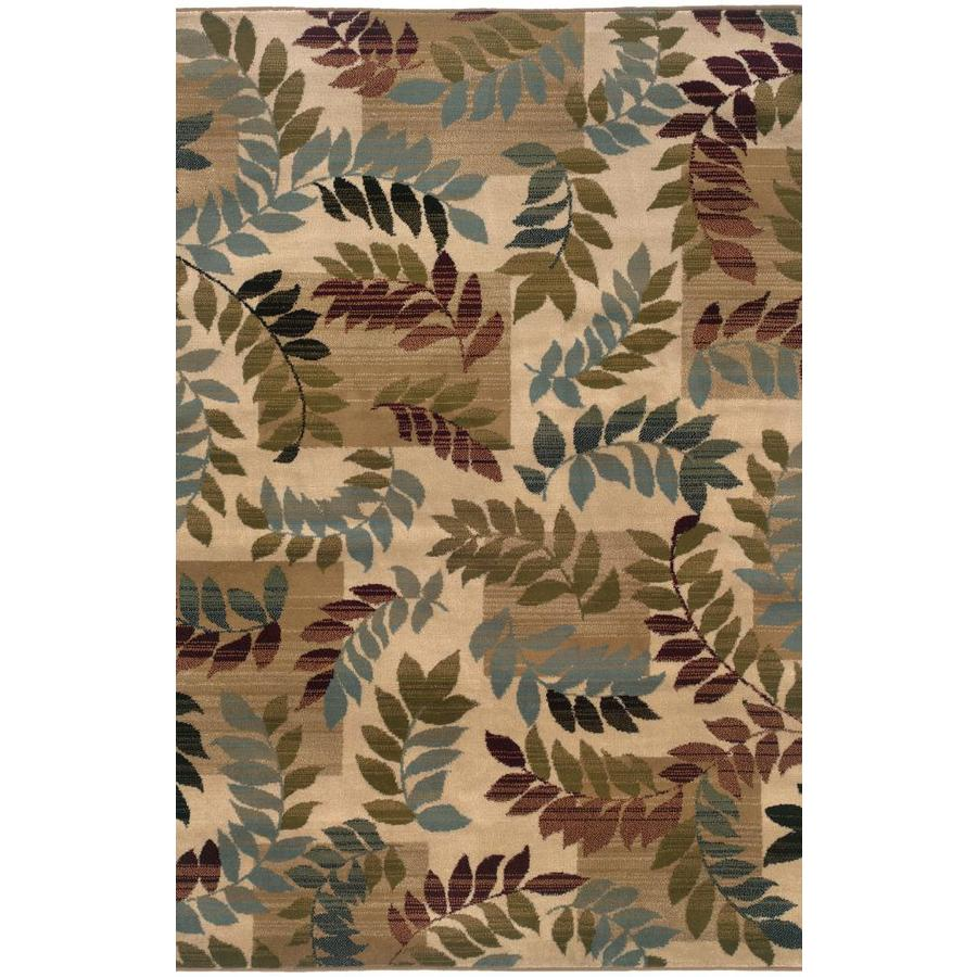 Archer Lane Canterbury Beige Indoor Nature Area Rug (Common: 5 x 7; Actual: 5-ft W x 7.25-ft L)