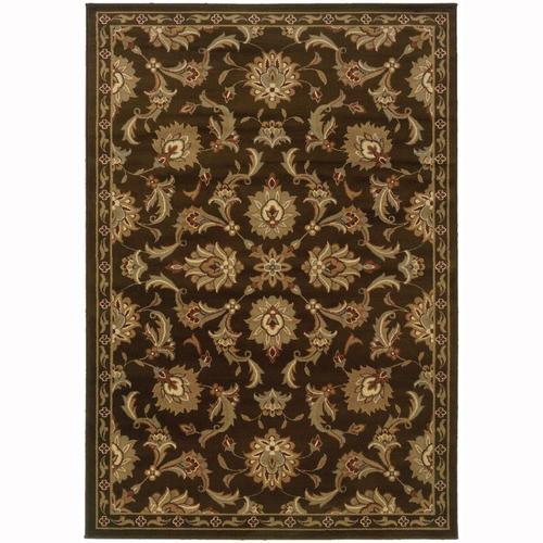 Archer Lane Abbermare Brown Indoor Oriental Area Rug
