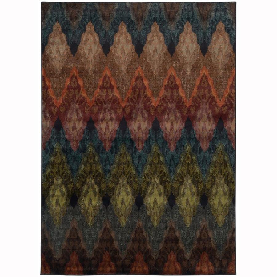 Archer Lane Sabine Indoor Nature Area Rug (Common: 5 x 8; Actual: 5-ft W x 7.5-ft L)