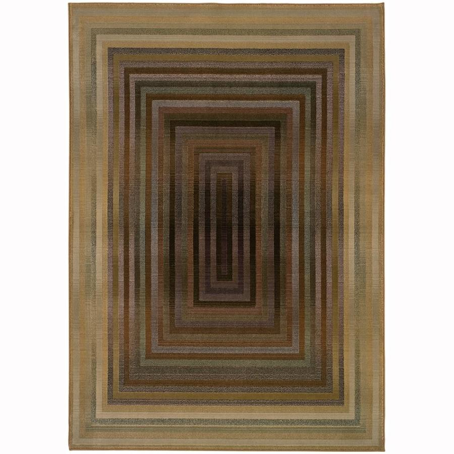 Archer Lane Kaiser Beige Indoor Area Rug (Common: 10 x 13; Actual: 10-ft W x 12.17-ft L)