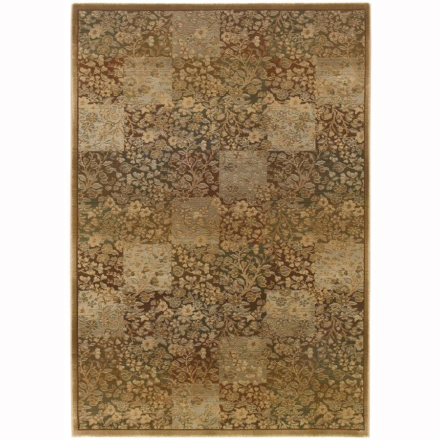 Shop Archer Lane Macarro Green Indoor Area Rug Common 6