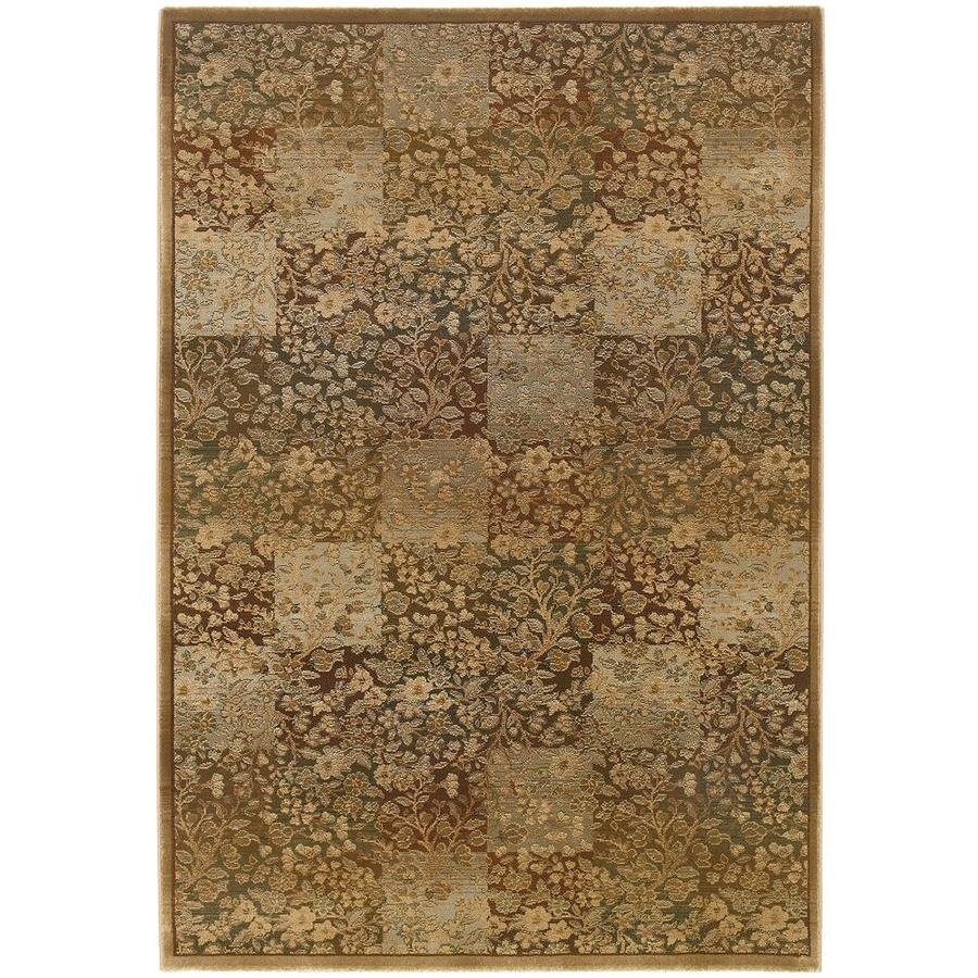 Archer Lane Macarro Green Indoor Area Rug (Common: 10 x 13; Actual: 10-ft W x 12.17-ft L)