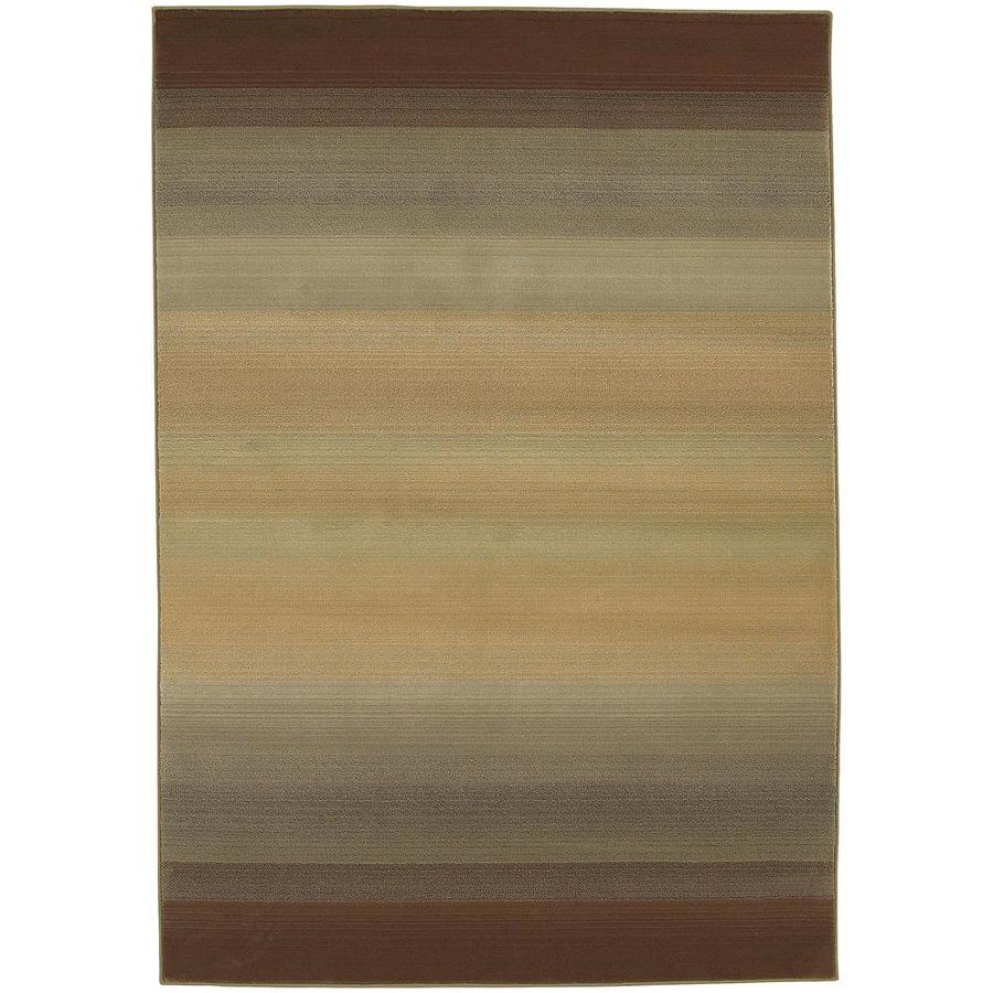 Archer Lane Quailwood Brown Indoor Area Rug (Common: 10 x 13; Actual: 10-ft W x 12.17-ft L)