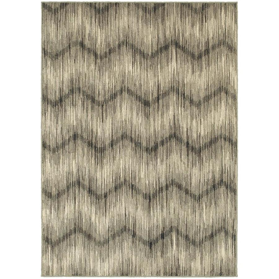 Archer Lane Cadence Gray Indoor Area Rug (Common: 10 x 13; Actual: 9.5-ft W x 12.83-ft L)