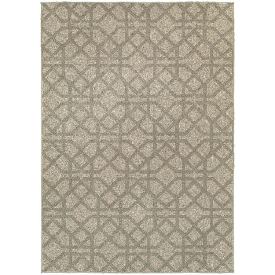 Archer Lane Galacia Gray Indoor Area Rug (Common: 8 x 11; Actual: 7.83-ft W x 10.83-ft L)