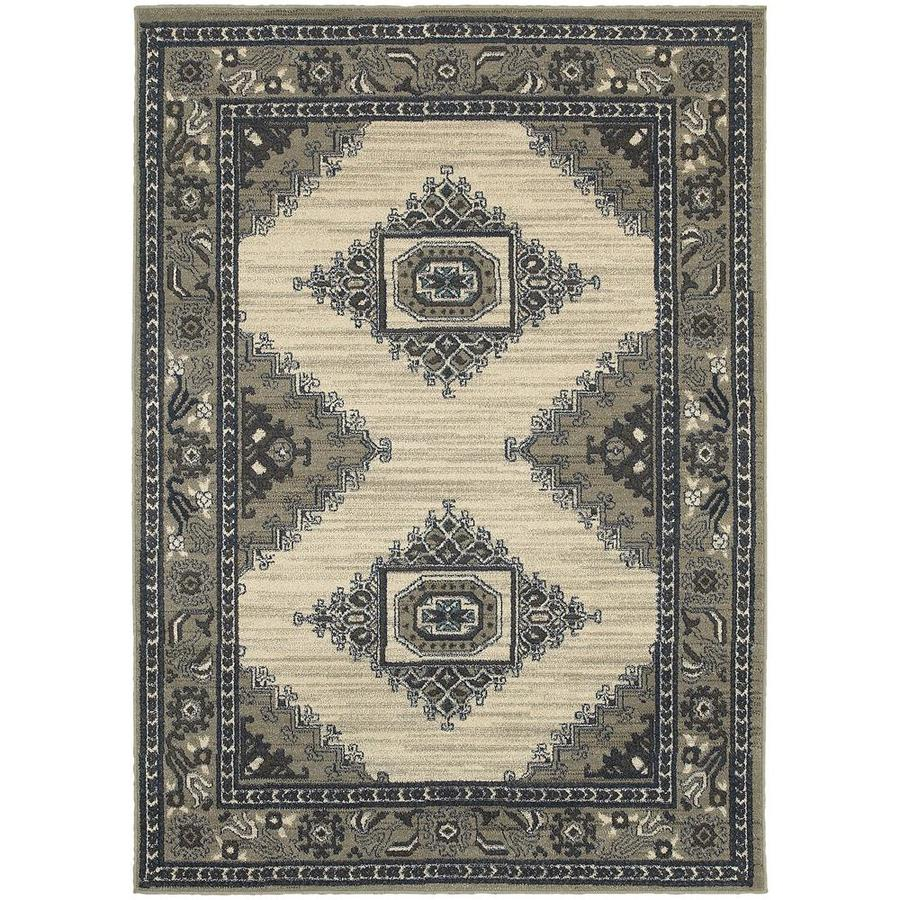 Archer Lane Hadden Beige Indoor Area Rug (Common: 10 x 13; Actual: 9.5-ft W x 12.83-ft L)