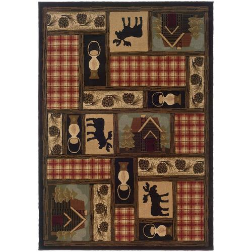 Archer Lane Jardin Brown Indoor Southwestern Area Rug