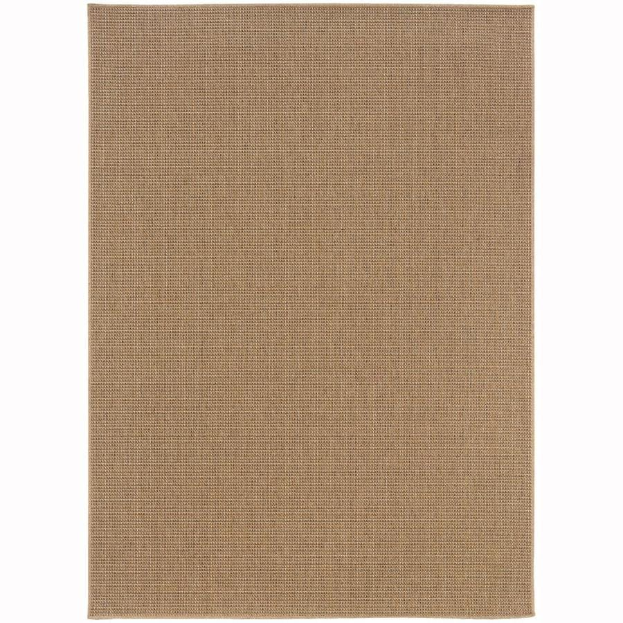 Outdoor Rug 7 X 10: Archer Lane Danberg Sand Indoor/Outdoor Area Rug (Common