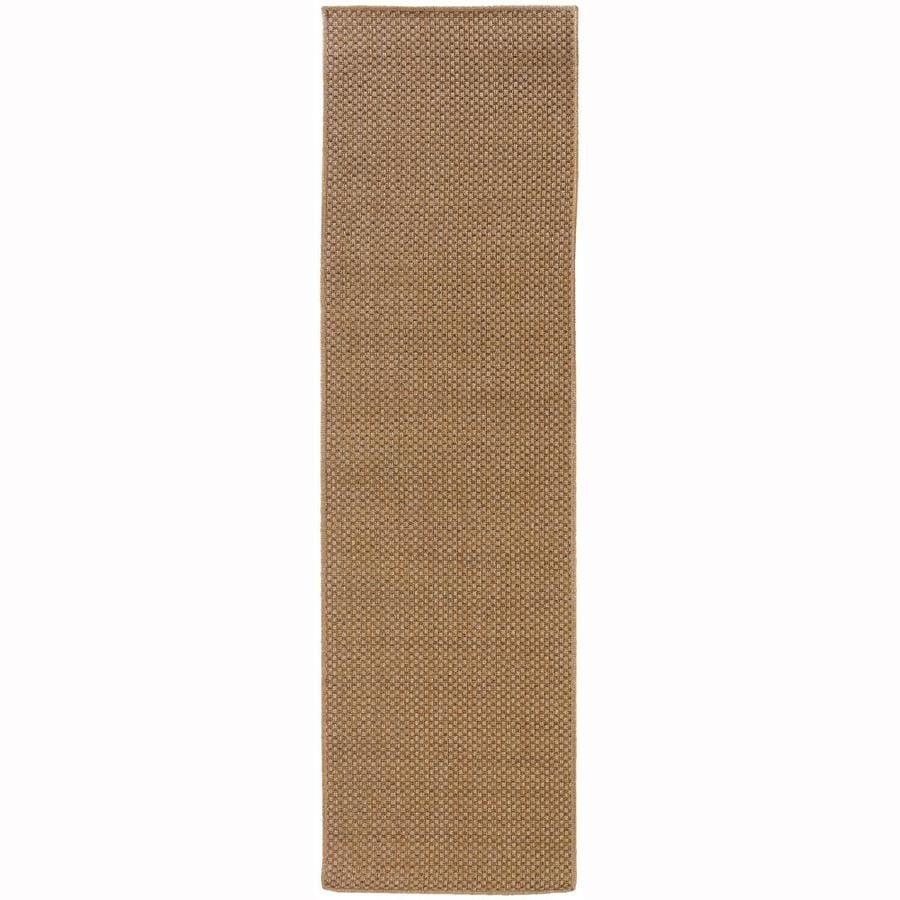Archer Lane Gannon Sand Indoor/Outdoor Runner (Common: 2 x 8; Actual: 2.25-ft W x 7.5-ft L)