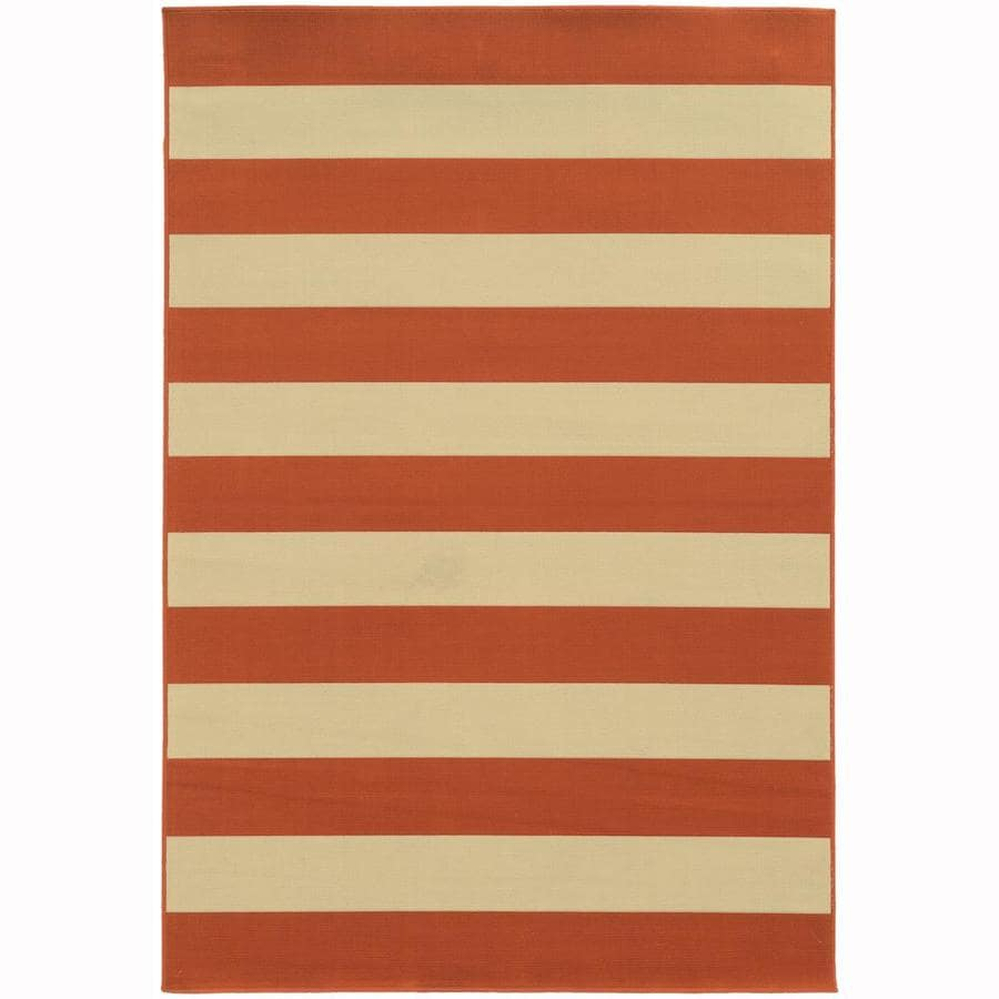 Archer Lane Callan Tuscan Rectangular Indoor/Outdoor Machine-Made Area Rug (Common: 4 x 6; Actual: 3.58-ft W x 5.5-ft L)
