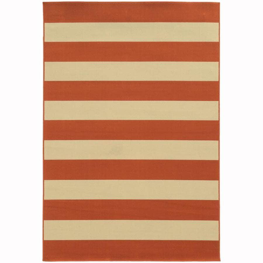 Archer Lane Callan Tuscan Rectangular Indoor/Outdoor Machine-Made Area Rug (Common: 9 x 13; Actual: 8.5-ft W x 13-ft L)