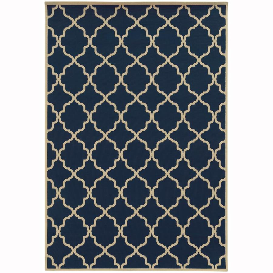 Archer Lane Dartmouth Persian Indoor/Outdoor Area Rug (Common: 5 x 8; Actual: 5.25-ft W x 7.5-ft L)
