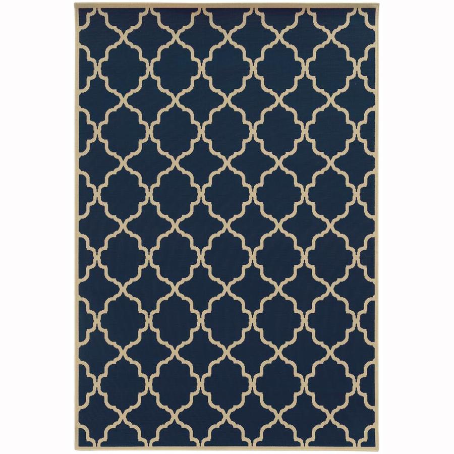 Archer Lane Dartmouth Persian Indoor/Outdoor Area Rug (Common: 9 x 13; Actual: 8.5-ft W x 13-ft L)