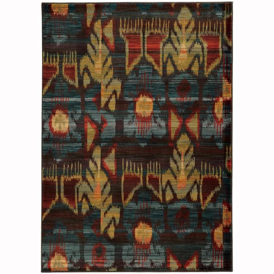 Archer Lane Adelaide Charcoal Indoor Area Rug Common 5 X 8 Actual