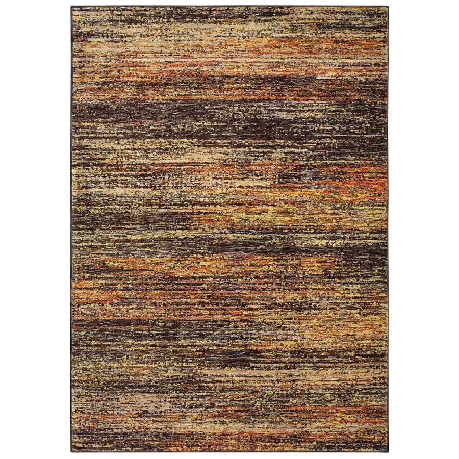 Archer Lane Tenney Gold Indoor Area Rug Common 3 X 5 Actual