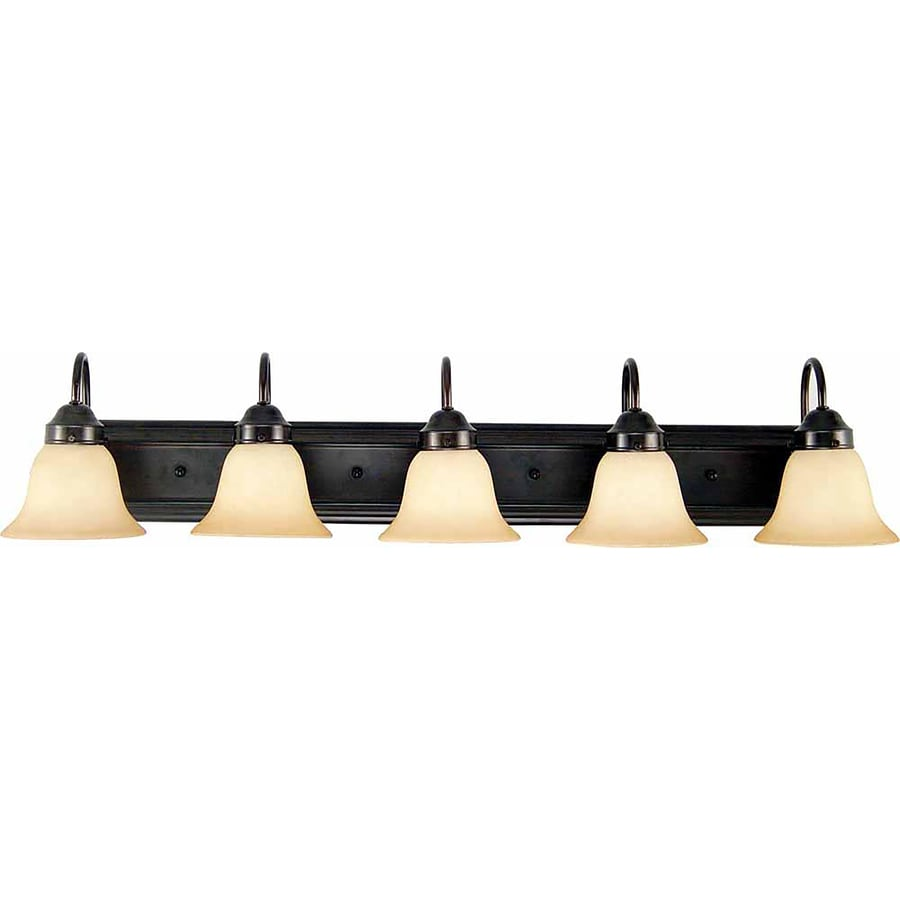 Naylor 5-Light 8-in Antique Bronze Vanity Light